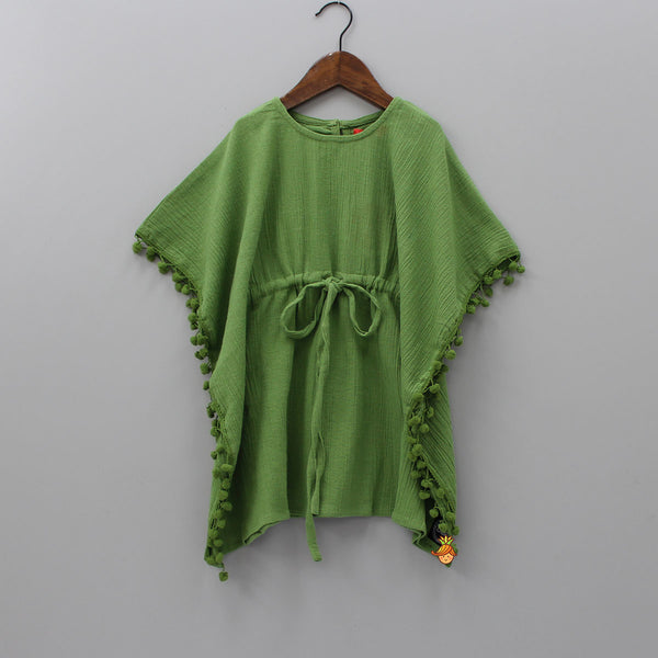 Olive Green Kaftan Dress