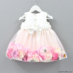 Pre - Order - Secret Garden Dress- White