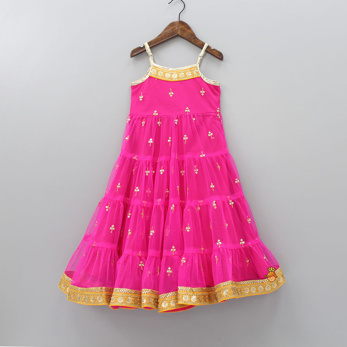 Sequin Work Anarkali Style Gown