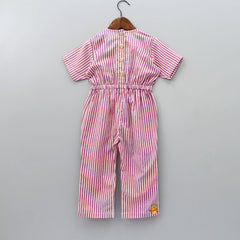 Pre Order: Hearty Stripped Jumpsuit