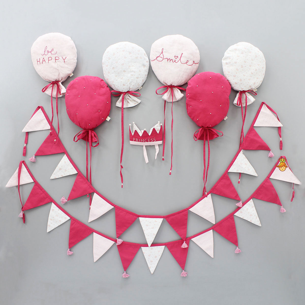 Pre Order: Balloon And Triangle Bunting
