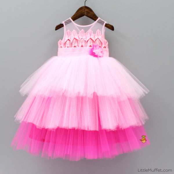 Pre Order: Candy Pink Gown