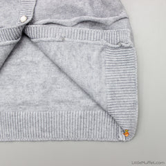Wavy Grey Sweater