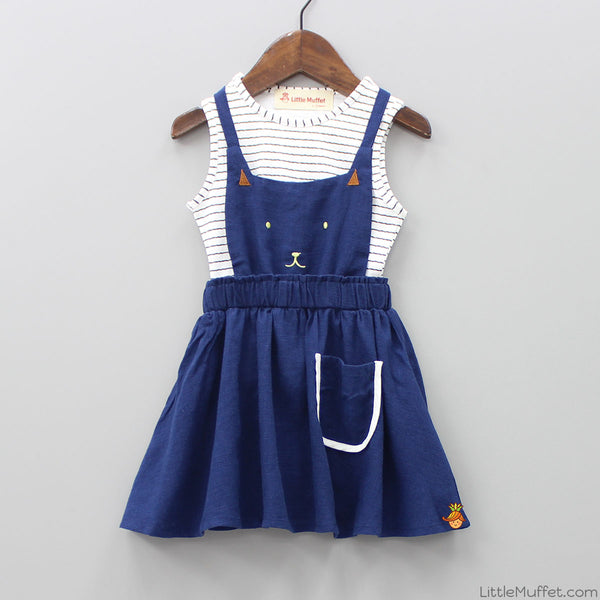 Kitty Pinafore Dress