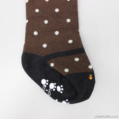Pretty Polkas - Brown