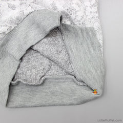 Frost Flower Pullover