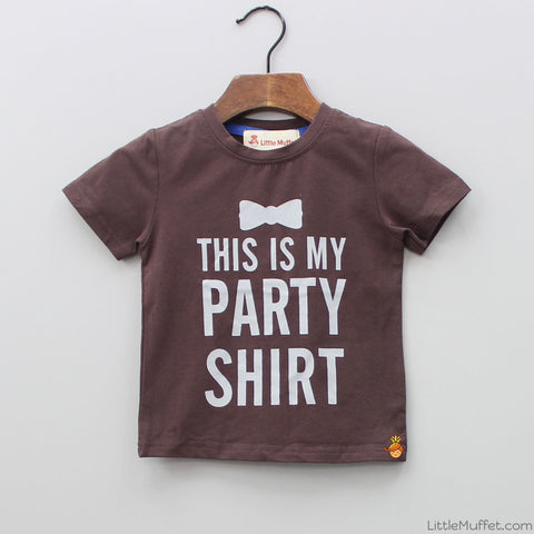 Party Time - Coffee Brown