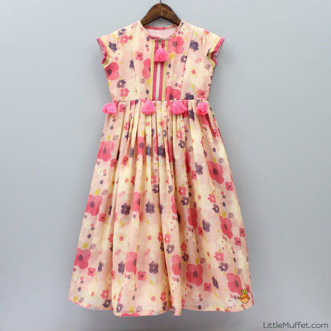 Pre Order: Flower Print Gown