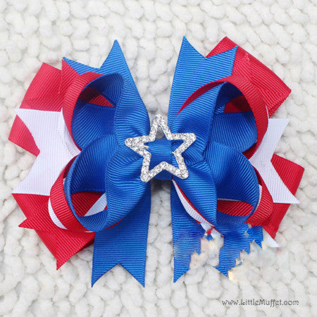Red & Blue Clip