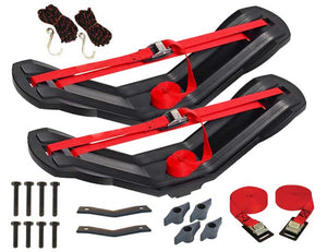Malone SeaWing Kayak Carrier with Tie-Downs - V Style - Rear Loading