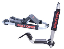 Load image into Gallery viewer, Malone DownLoader™ Kayak Carrier with Tie-Downs - J-Style - Folding - Side Loading