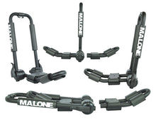 Load image into Gallery viewer, Malone FoldAway-5 Multi Rack Folding 1 or 2 Kayak, SUP, Canoe Carrier