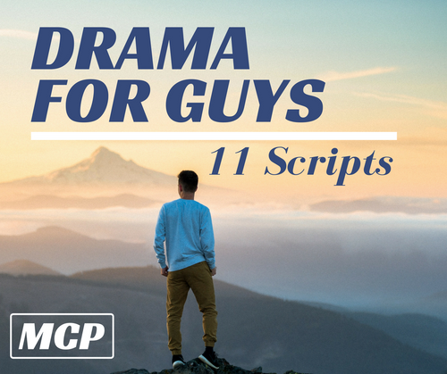 Drama for Guys – 11 Serious Interp Scripts – Instant Download