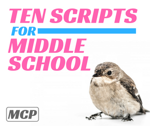 10 Scripts for Middle School - Instant Download