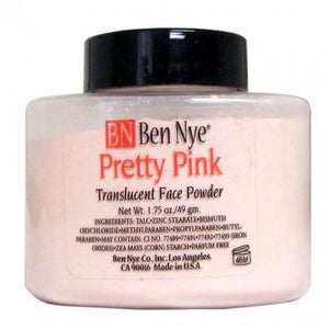 Pink Translucent Face Powder