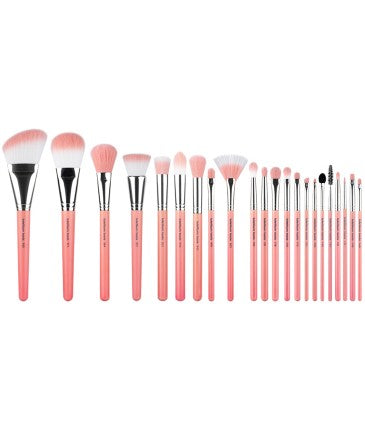 Pink Bambu Deluxe 22pc. Brush Set