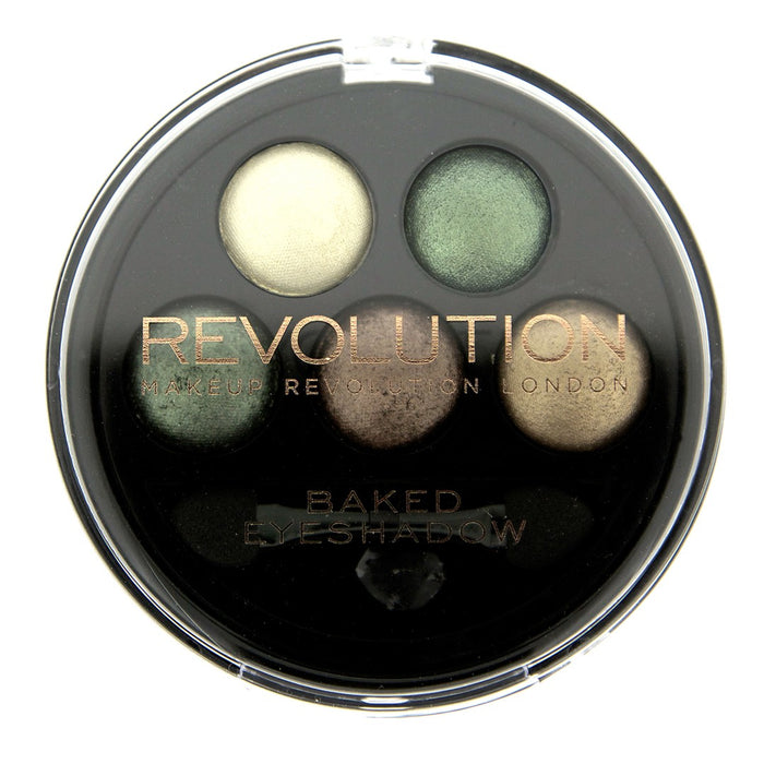 5 Baked Eyeshadows-Beyond Eden