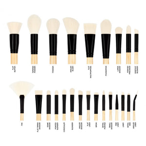 Elite Beige Brush Set