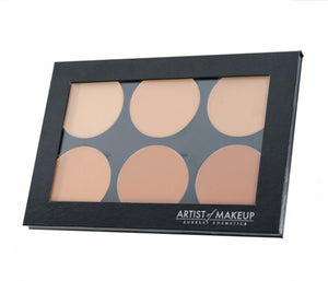 6 Luminous Foundation Palette