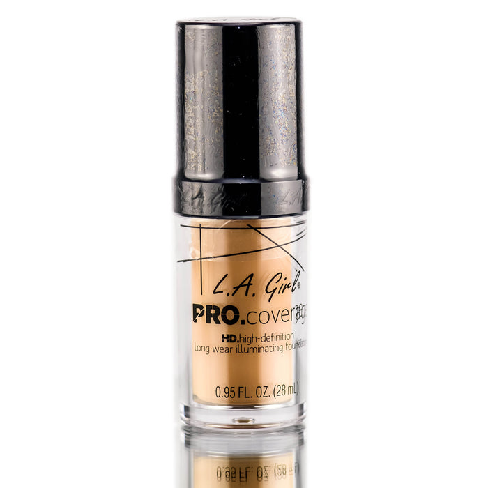 Pro Coverage Illuminating Foundation - Natural