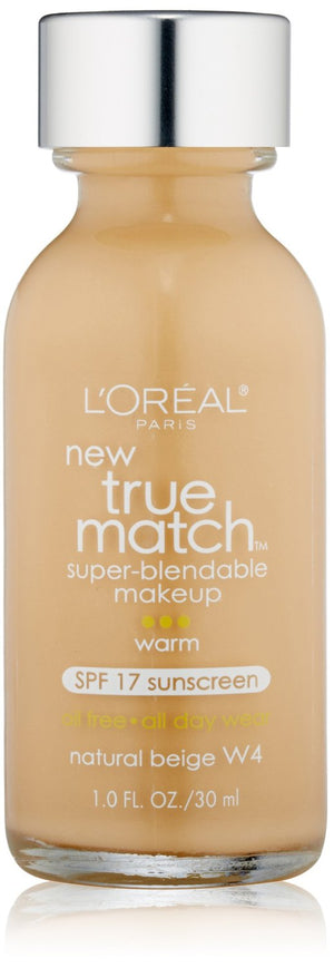 True Match Super Blendable Makeup, Natural Beige W4