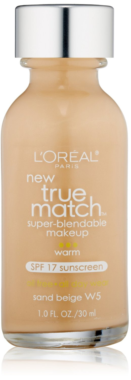 True Match Super Blendable Makeup, Sand Beige W5