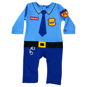 Police Coverall  0-3 months