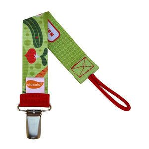 Veggie Patch Pacifier Clip
