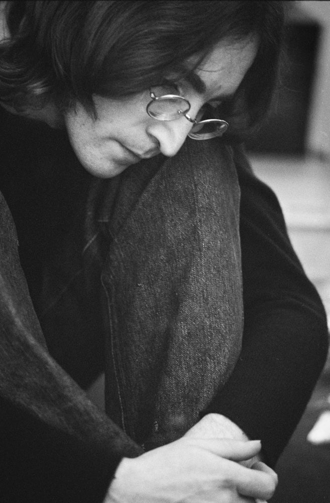 John Lennon Listening to the White Album 1968