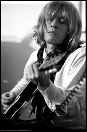 BRIAN JONES IN REHEARSAL 1968