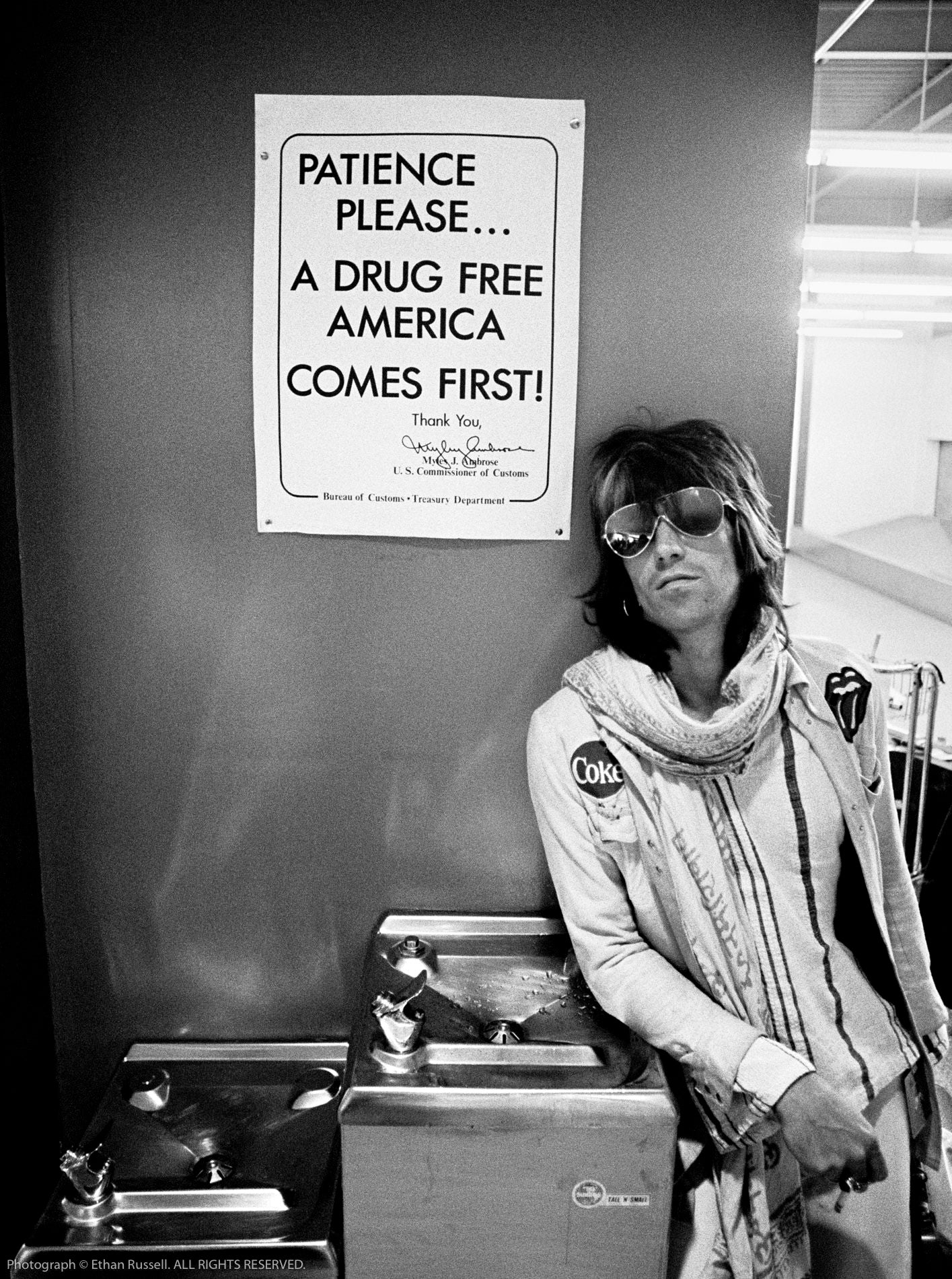 "KEITH RICHARDS ""PATIENCE PLEASE"" 1972"