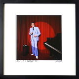 Framed, signed and titled 8x10 archival print of Jerry Lee Lewis (One only)