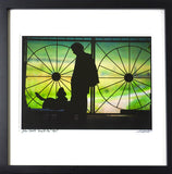 "Framed, signed and titled 8x10 archival print of John Hiatt ""walk On"" (One only)"