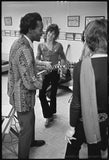 CHUCK BERRY AND KEITH RICHARDS. BACKSTAGE 1969