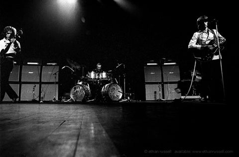 Cream On Stage - Eric Clapton, Jack Bruce, Ginger Baker at The Royal Albert Hall London 1968