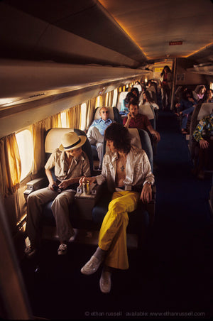 Inside The Rolling Stones Plane 1972