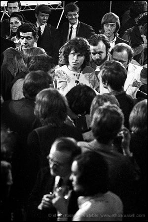 Jim Morrison at London Press Conference 1968 (III)