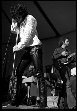 Jim Morrison at London's Roundhouse 1968 (IV)