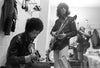 Jimi Hendrix and Mick Taylor 1969 Madison Square Garden
