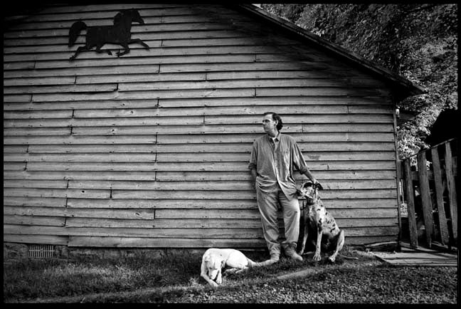 John Hiatt at Home, Franklin, Tennessee