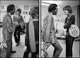 Keith Richards Chuck Berry and Mick Jagger - Diptych 1969