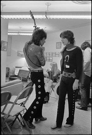 "Keith Richards and Mick Jagger ""Riff""  1969"