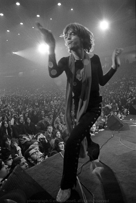 "Mick Jagger ""Monkey"" 1969 Tour"