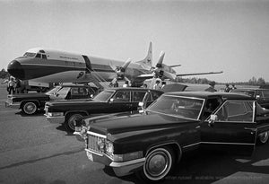 The Rolling Stones Planes and Limos 1972