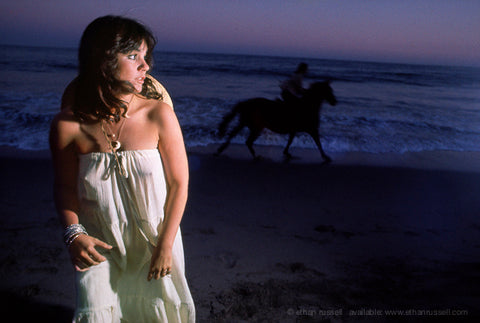 "Linda Ronstadt ""Hasten Down The Wind,"" Malibu 1975"
