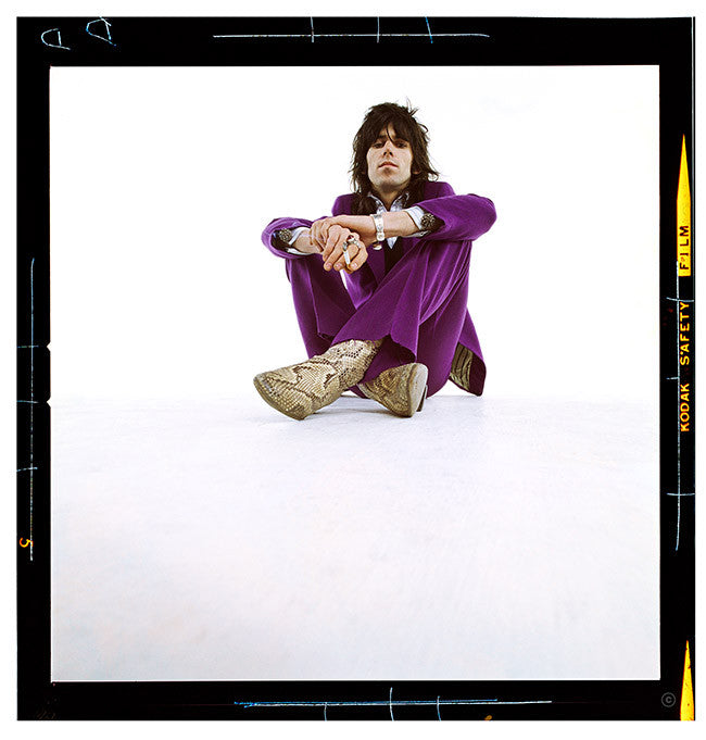 Keith Richards in Purple Suit 1969