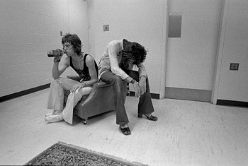 "Keith Richards and Mick Jagger ""Drink"" 1972"