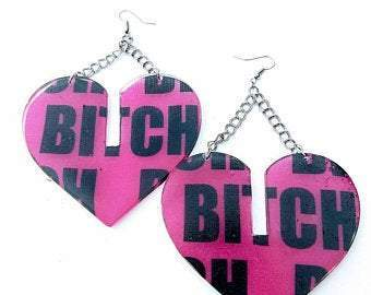 Bitch Earrings