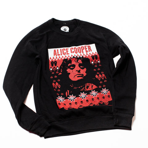 Alice Cooper Holiday Sweater