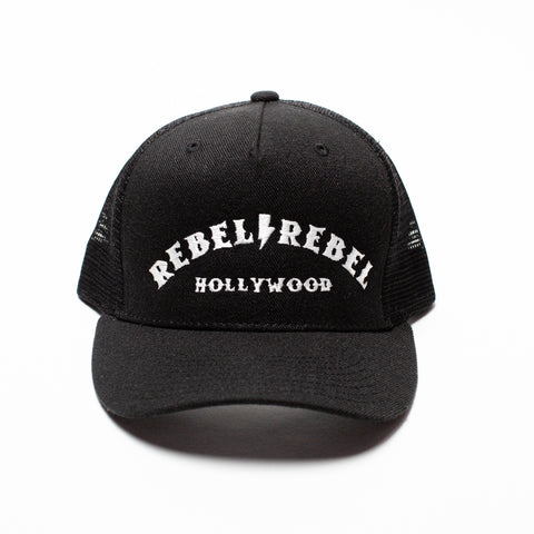 Rebel Lightning Bolt Snapback